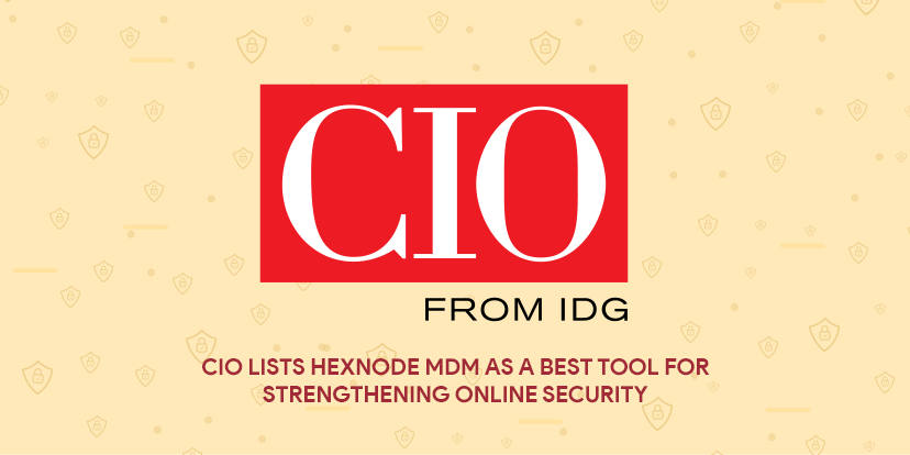 cio online security tools