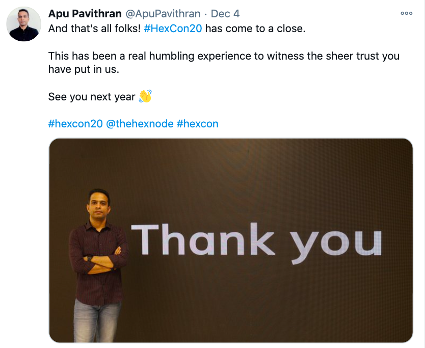 Apu Pavithran, founder and CEO at Hexnode