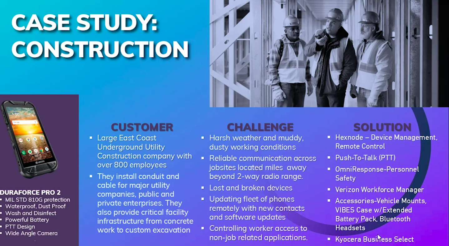 Case study construction