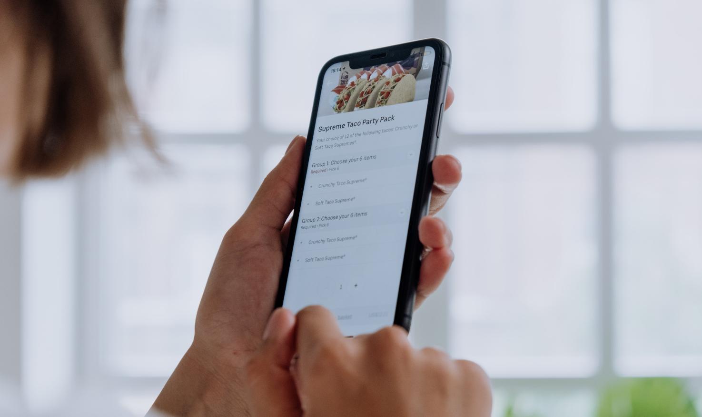 Online food-ordering