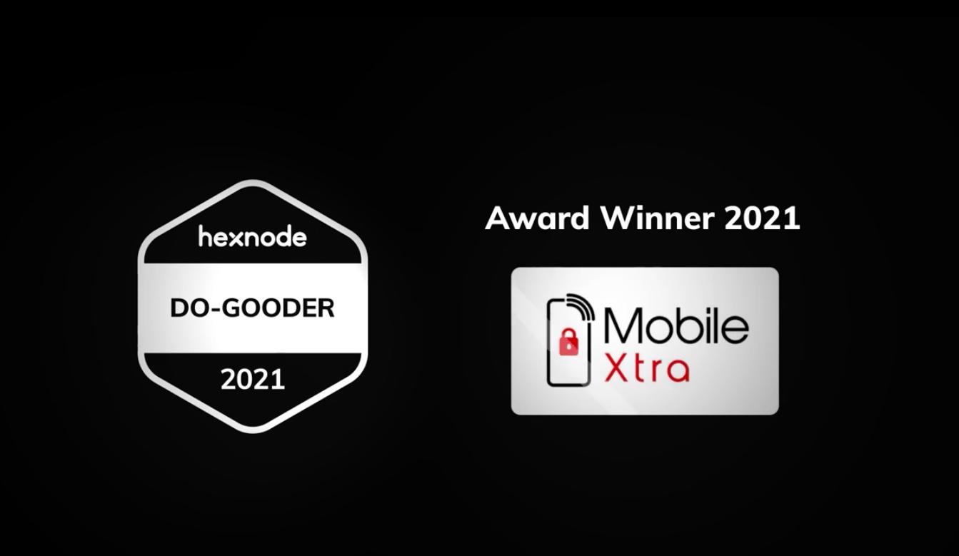 Winner of the Do Gooder Award