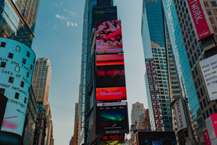 Project you brand with a digital signage