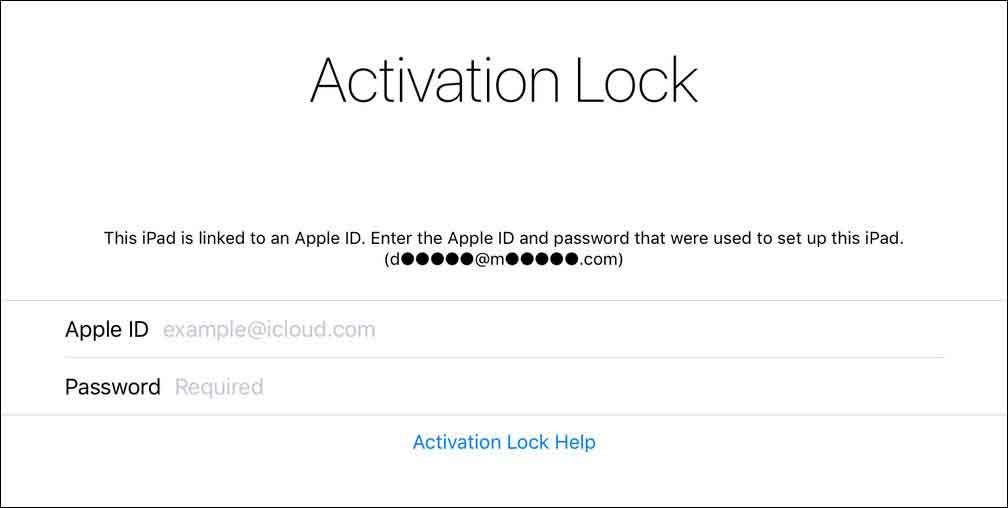Bypass Activation Lock using MDM - Help Documentation