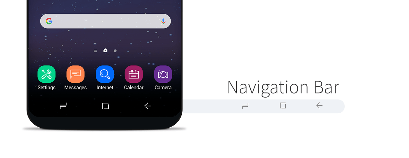Navigation Bar on Android Devices