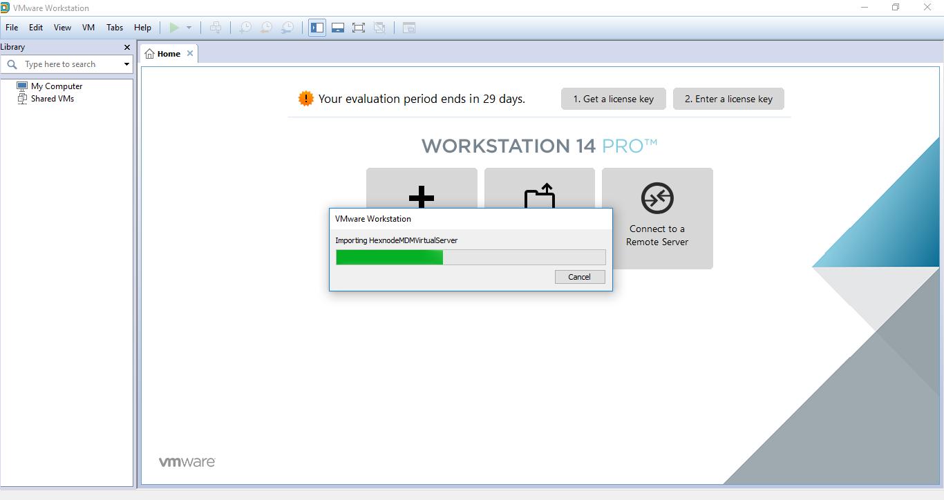 Hexnode MDM On-premise edition help