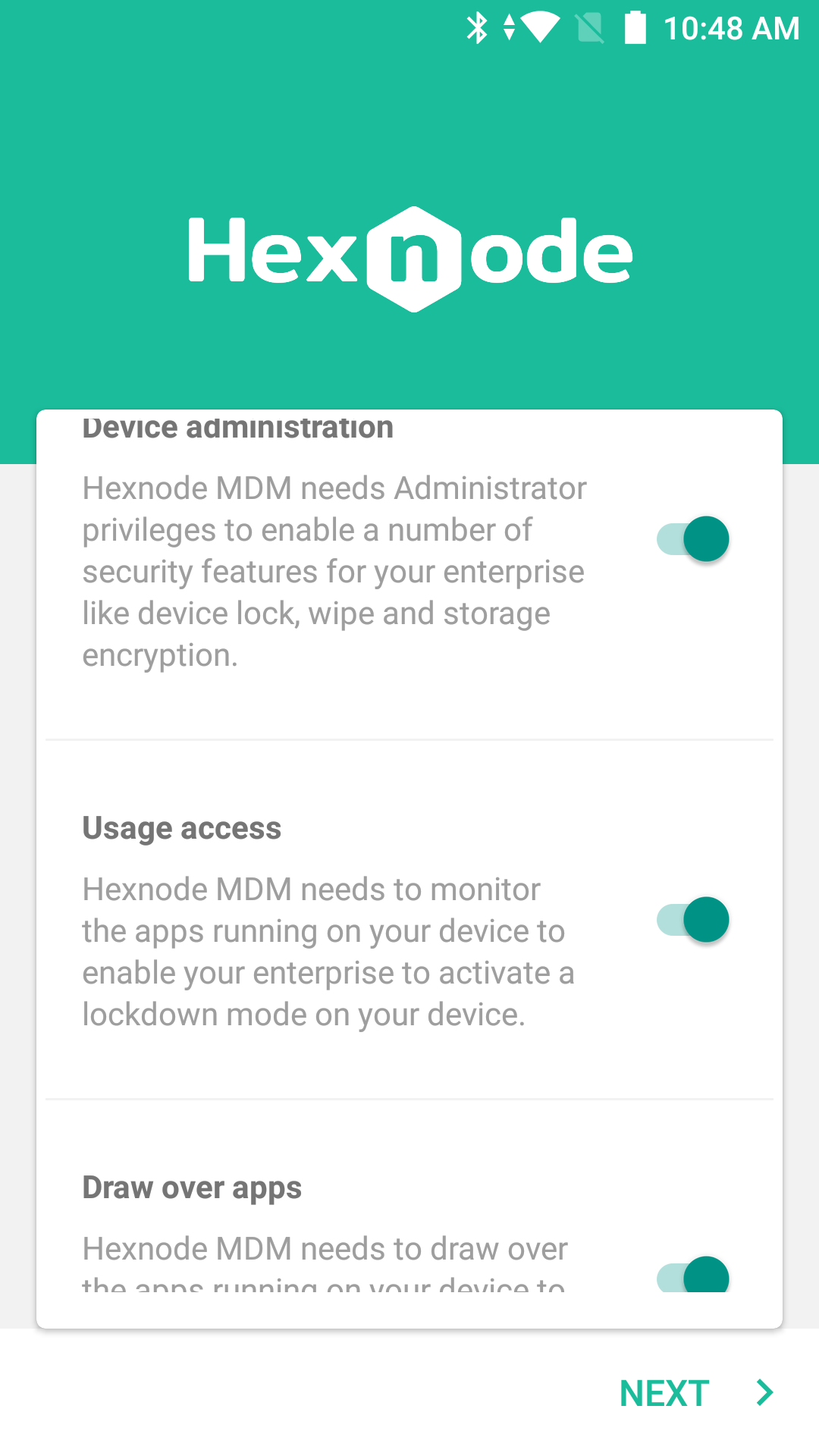 How to enroll a device in Android in the Enterprise (Android for
