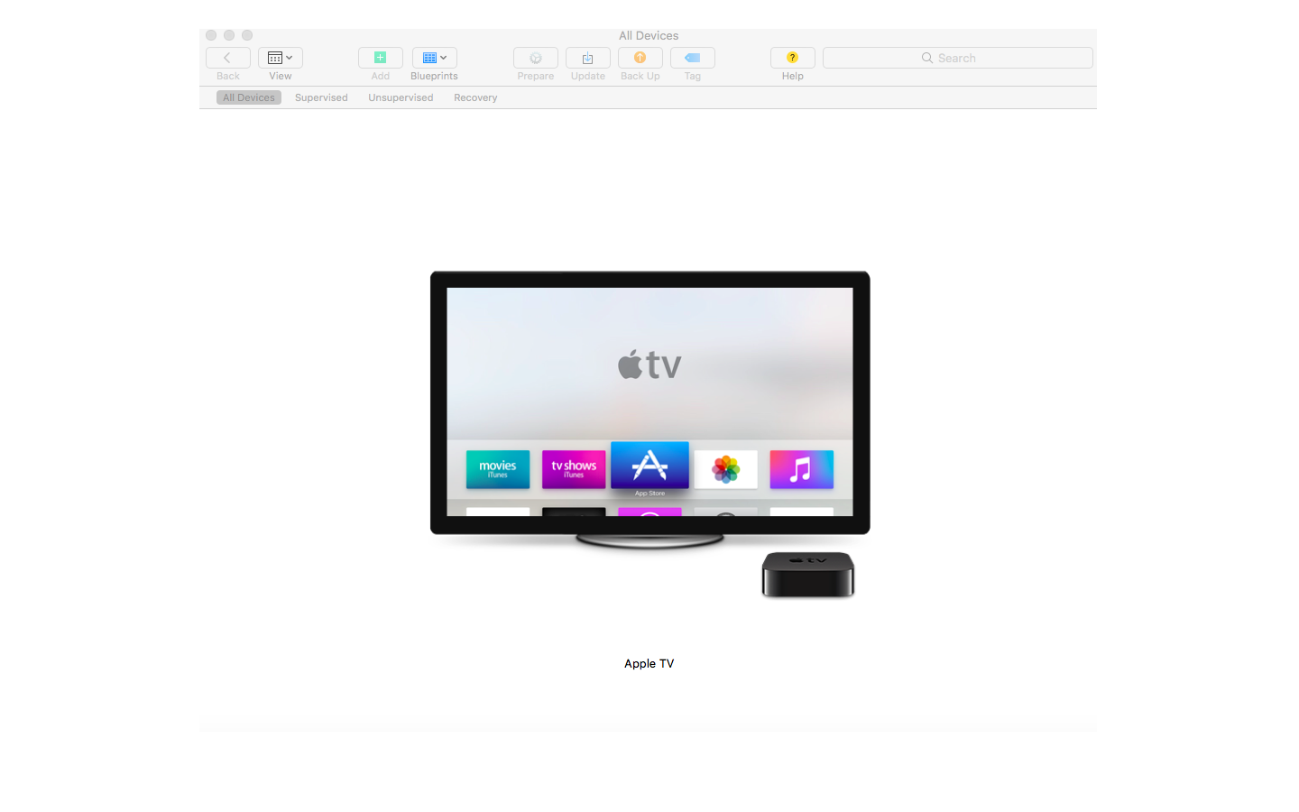 enroll apple tvs in hexnode mdm