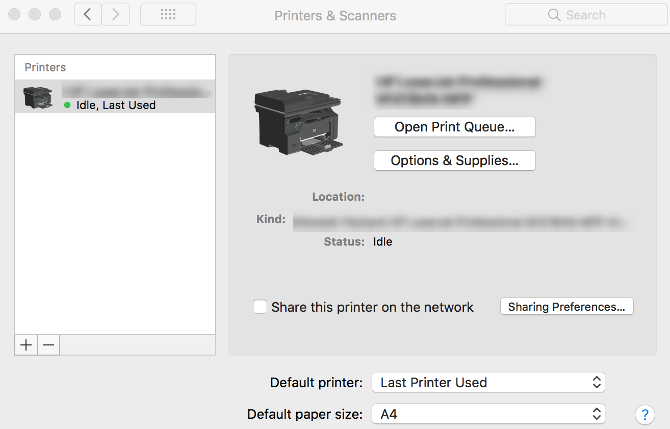 Add AirPrint Printers to Mac devices using Hexnode MDM - Printers added