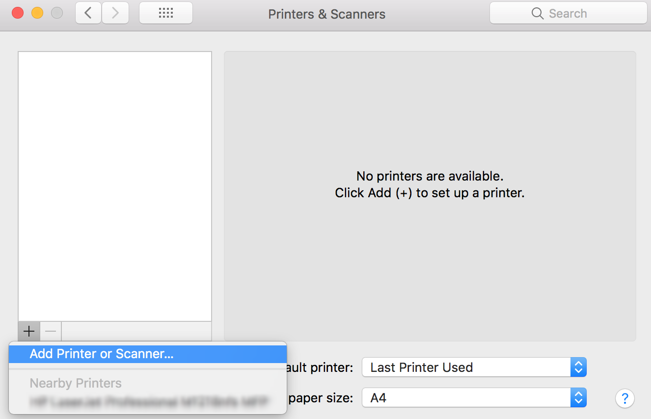 Add AirPrint Printers to Mac devices using Hexnode MDM - Printers & Scanners