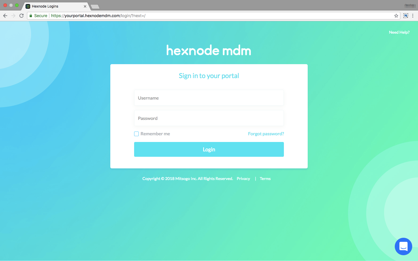 Hexnode MDM On-premise edition help