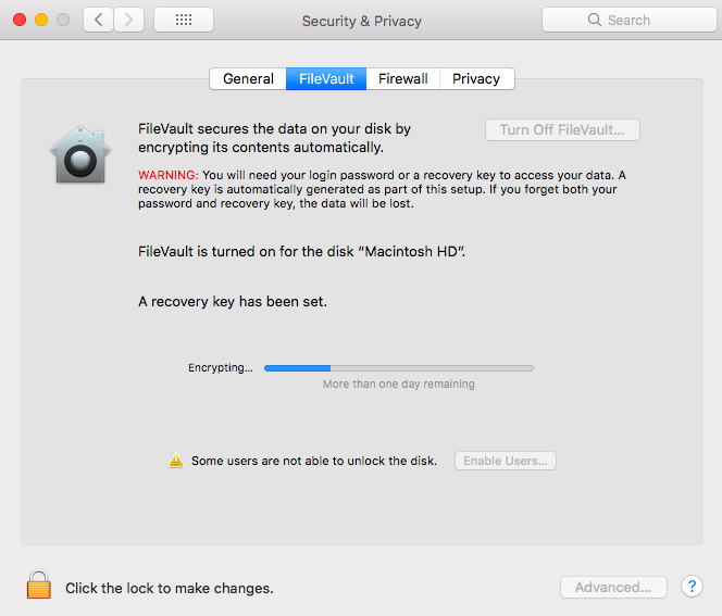 macOS-FileVault-Encryption