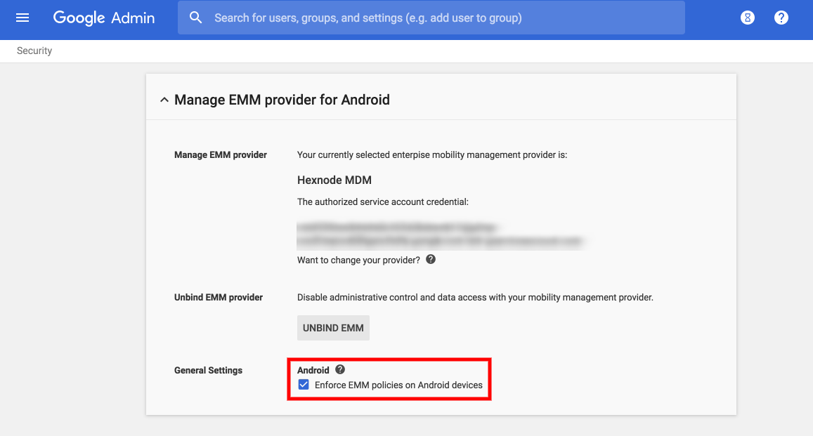 How to enroll Android devices in Android in the Enterprise using G