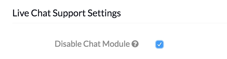 MDM Settings - Disable-Chat-Module