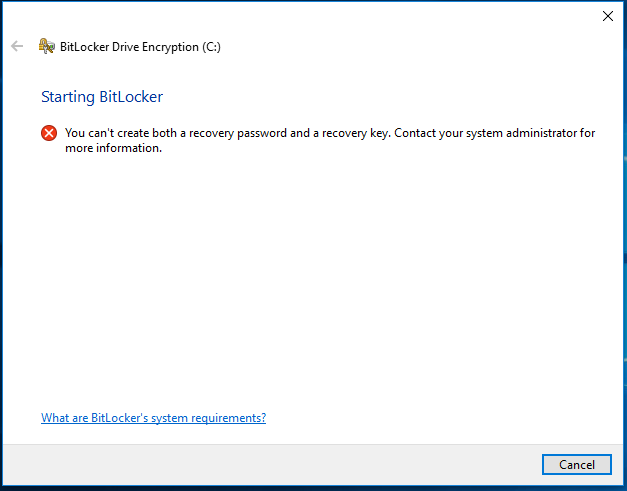 manage bitlocker