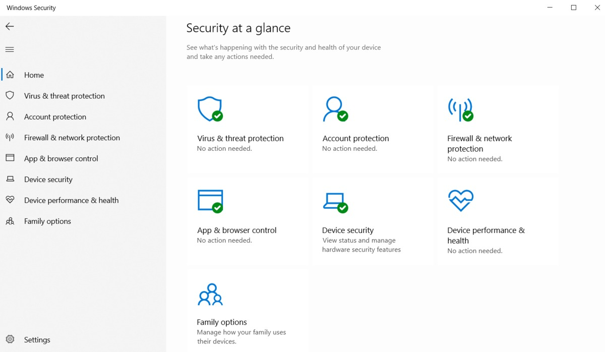 Configure Windows Defender Security Center settings using Hexnode MDM